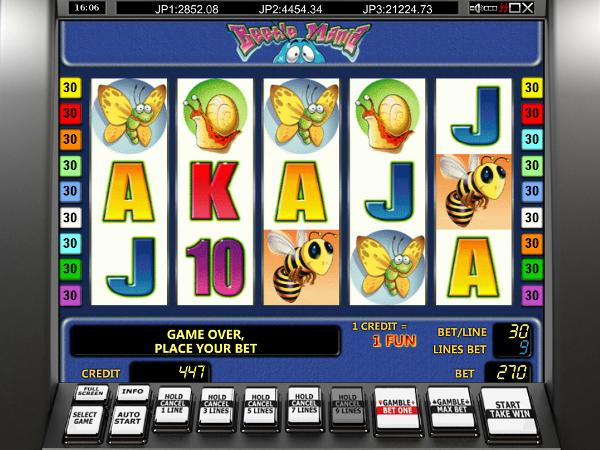 Игровой автомат Beetle Mania - очень неплохие выигрыши в казино Вулкан Вегас