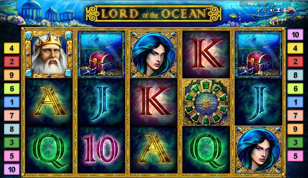 Игровой автомат Lord Of The Ocean - богатства морских глубин в Казино Вулкан
