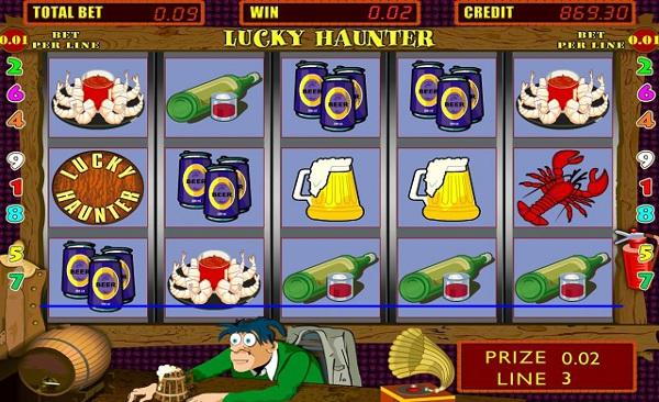 Игровой автомат Lucky Haunter - выиграй сокровище в казино Вулкан