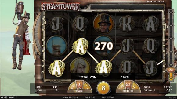 Игровой автомат Steam Tower - в Эльдорадо казино сорви крупный куш