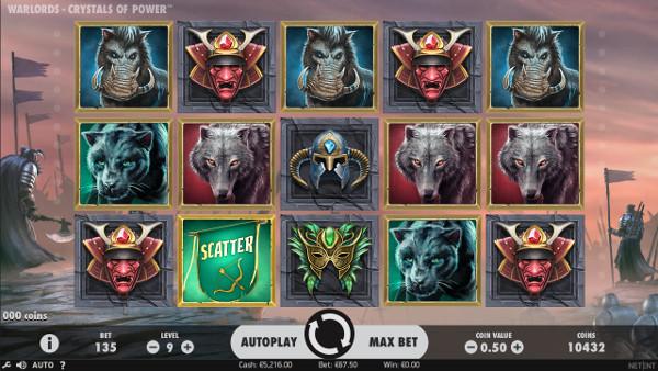 Игровой автомат Warlords: Crystals of Power - по крупному выиграй в казино Вулкан Платинум