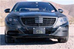 Новый Mercedes S-класса проходит тестирование перед его запуском в следующем году
