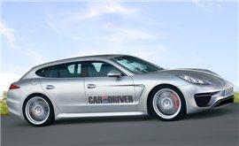Porsche готовит к выпуску универсала Panamera
