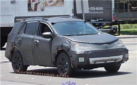 Прототип следующего поколения Toyota Rav 4 появился на западном побережье